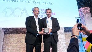Gewinnerbild PAKETIN Digital Champions Award