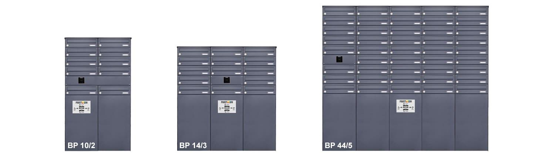 Brief- und Paketkastenanlage BP